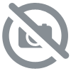 Coupon de tissu en jersey de coton orange 1,50m ou 3m x 1,40m